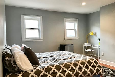 Private parking, Clean, Comfy room @2
