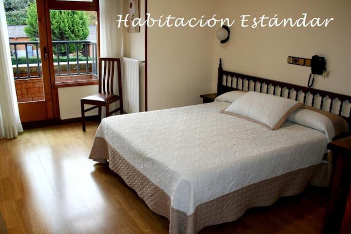 HOTEL CANGAS CANGAS DE ONIS - Standard Doppelzimmer mit 1 oder 2 Betten - Standardpreis