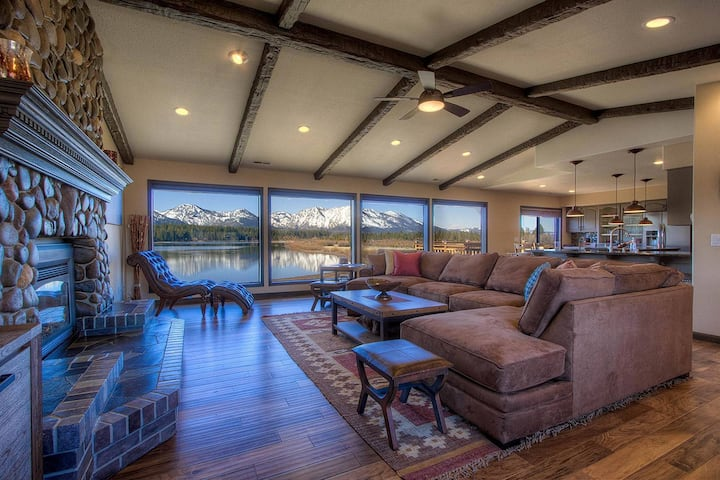 Mtn/Meadow Views! Luxury, w/Chef's Kitchen, Hot Tub, BBQ, Fireplace (TKH1418)