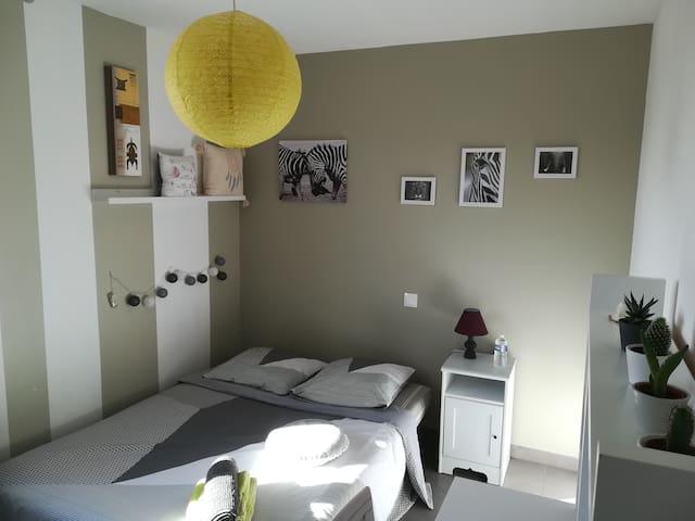 Chambre proche Montpellier sortie 28 A709