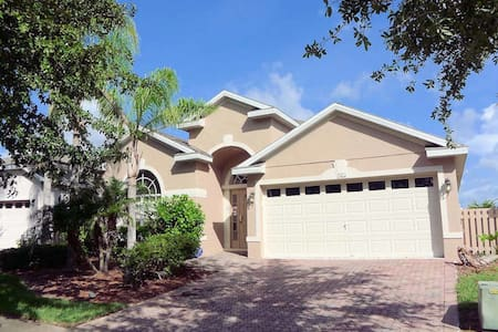 Highlands Reserve 5/3 pool home property, fully furnished, with full kitchen, and all linens and towels. - DAVENPORT - Haus