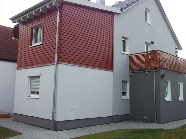 Fassade 0sten und Norden