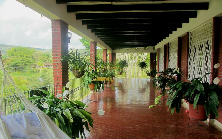 Country house in Cali, Colombia. - Nature's lovers