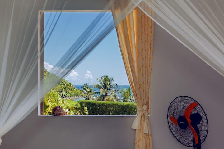 Bungalow double - Vue sur la mer avec terrasse