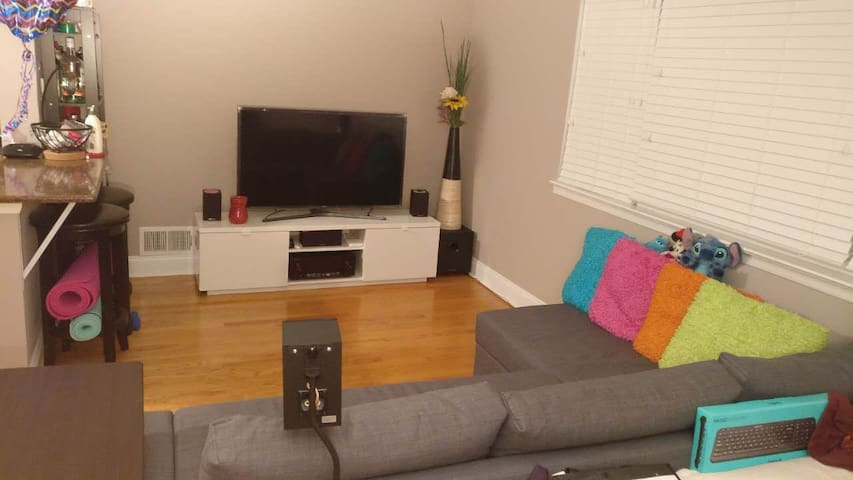 Cozy and Lovely 1BR Apt 20 min from NYC