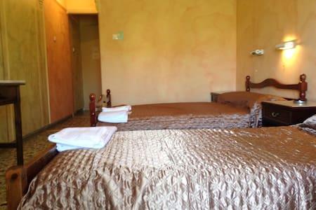 Δωμάτιο με 2 μονά κρεβάτια - Αίγινα