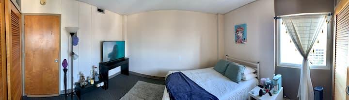 Confortable room studio.