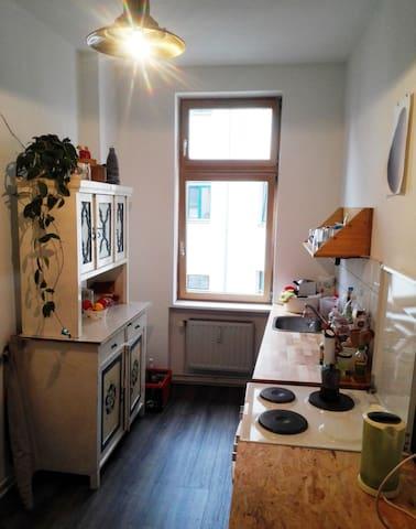 Herzliche Wohnung mitten in der Neustadt - ドレスデン - アパート