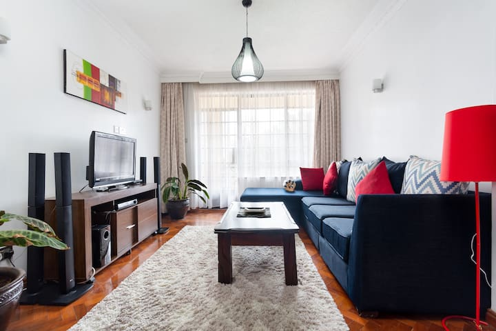 Cosy and Modern Apartment in Kilimani.