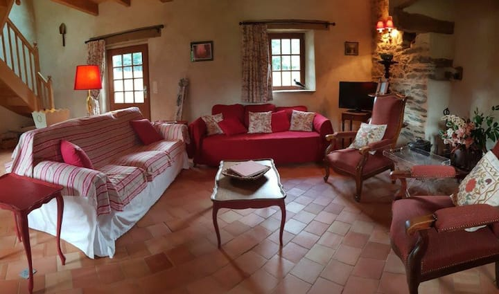Maison 120 m² pour 4-6  pers avec poêle à bois