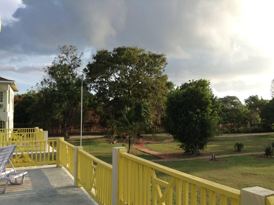 Property sits on a 3 1/2 acre Bird Sanctuary.
