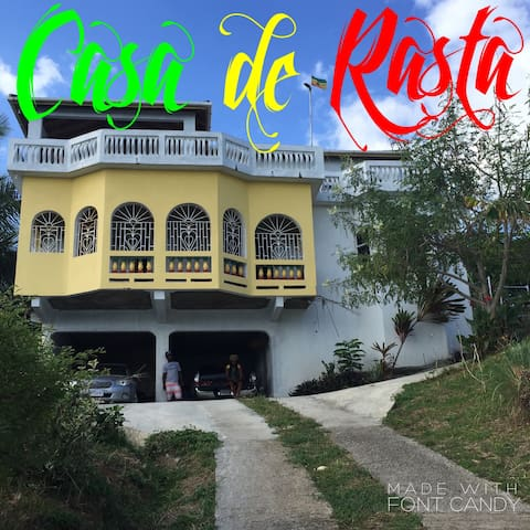 Casa de Rasta in Orange Bay - Aamiaismajoitus