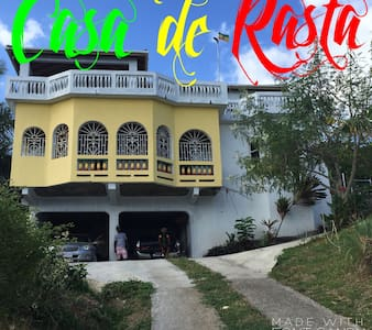 Casa de Rasta in Orange Bay