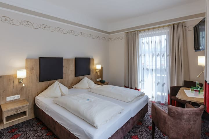 Hotel Romantik Krone  Deluxe double room with balcony