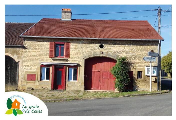 Au grain de Celles - cottage near Langres