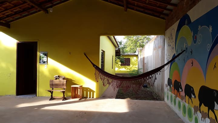 CASA para amantes da natureza.  FOR NATURE LOVERS