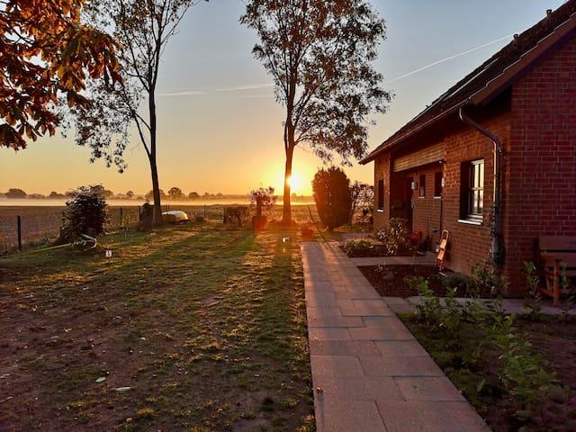 Natur Pur! Ferienwohnung Zollhaus in Dargow