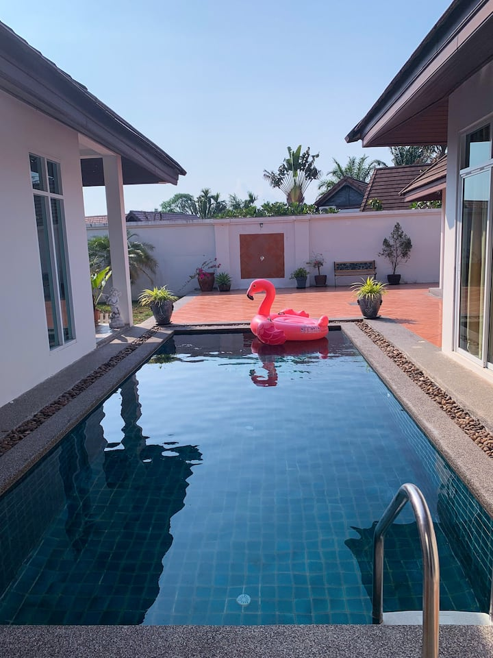 Homestay for Dog lovers in private pool villa