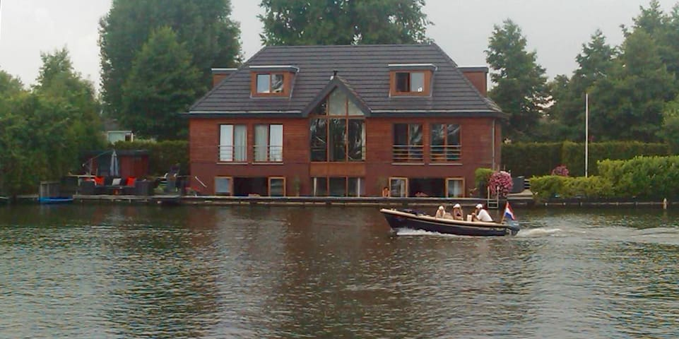 Water Villa few minutes away from Amsterdam Centre - Weesp - House