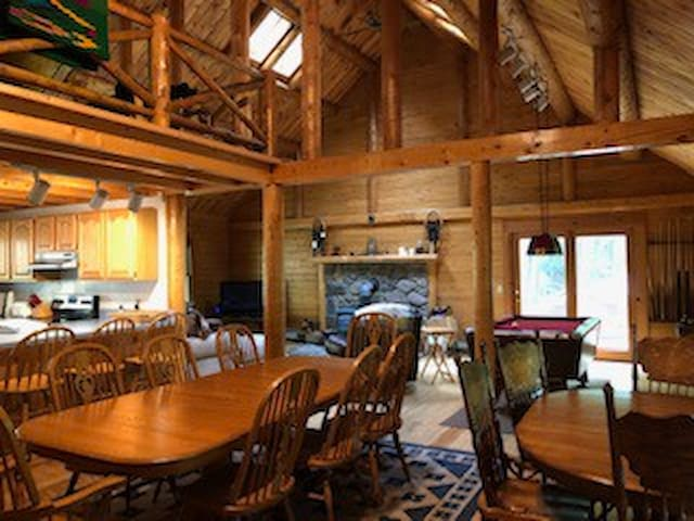 Log home in the heart of the Catskills