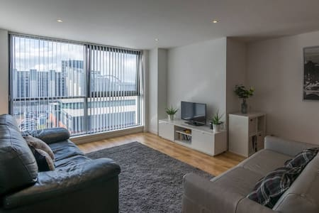 Stunning Apartment Next to SSE Hydro