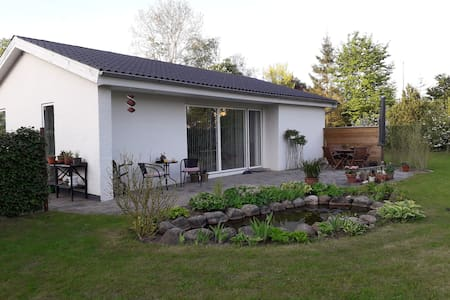 Fint og hyggeligt landsbyhus