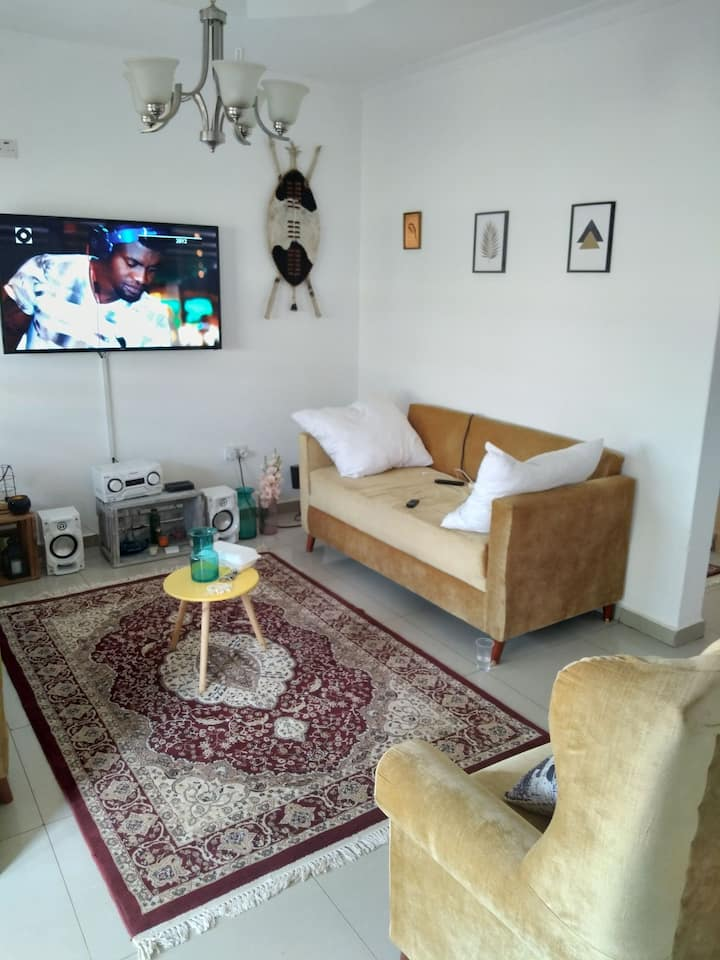 2 bedroomed flat with own entrance in the suburbs