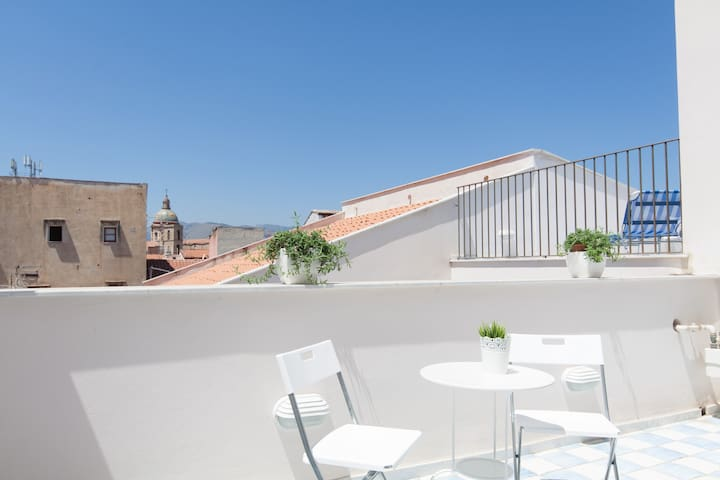 New!!Loft with Magic 2 terraces in city center - Palermo - Loft