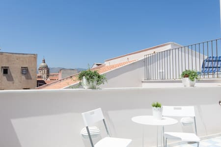 New!!Loft with Magic 2 terraces in city center - Palermo
