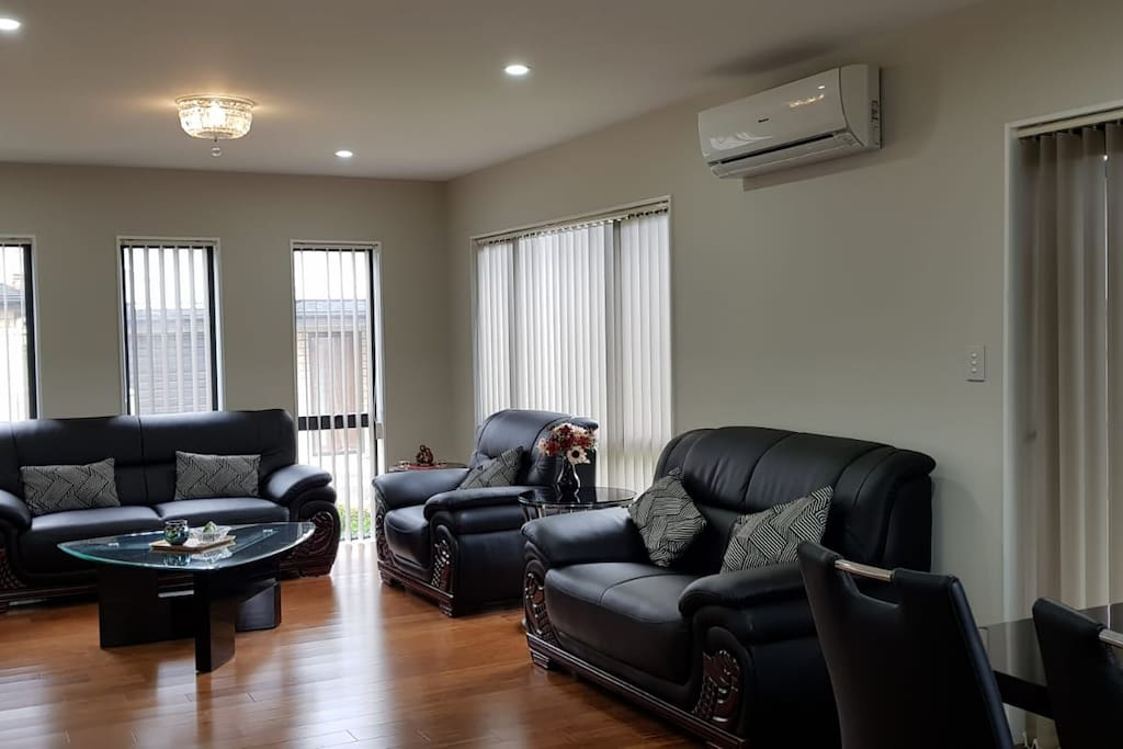 Lounge Area with Heating/Cooling