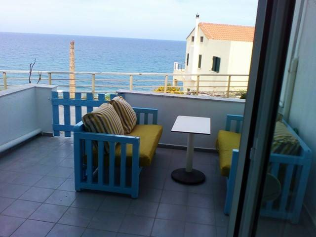 flat near the sea in  RETHYMNO - Rethymno - Daire