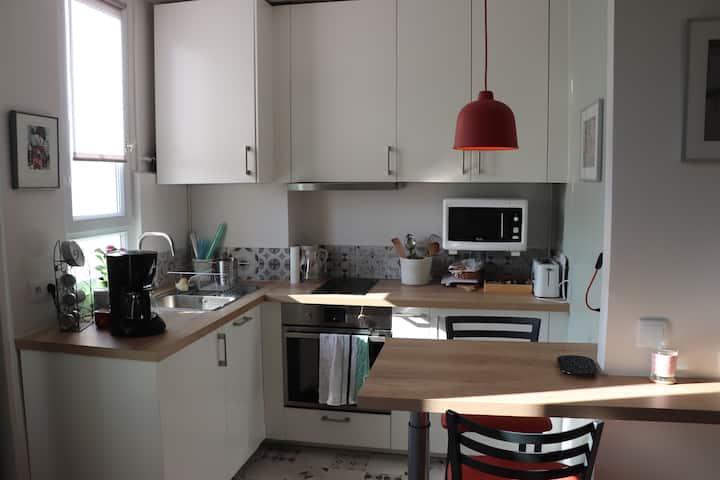 Bel appartement bien situé pour 4 personnes