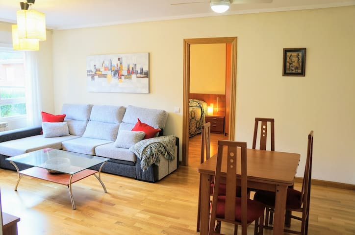 Charming & Light apartment in quiet part of León
