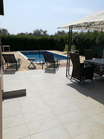 Two Bedroom House, in the countryside in Rovinj, Outdoor pool