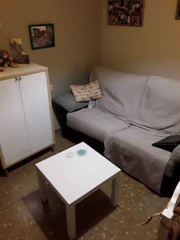Habitacion tranquila en ambiente familiar