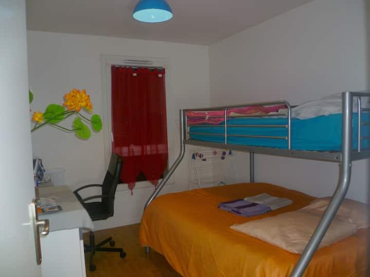 Chambre proche Paris, La Villette et Rosny