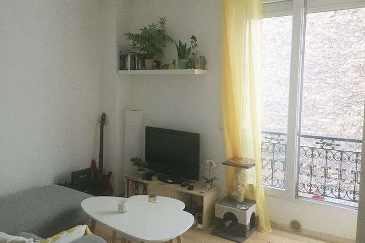 Cosy & quiet flat, in the heart of Paris (11e)