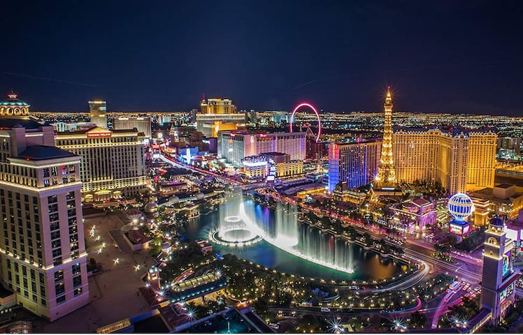⭐Strip View Convention Center FREE Parking & WiFi⭐