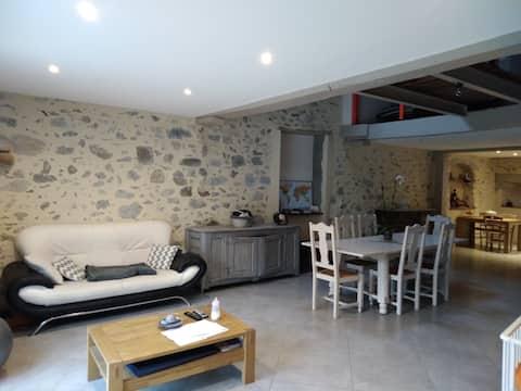 Maison Béarnaise avec vue sur les Pyrénées