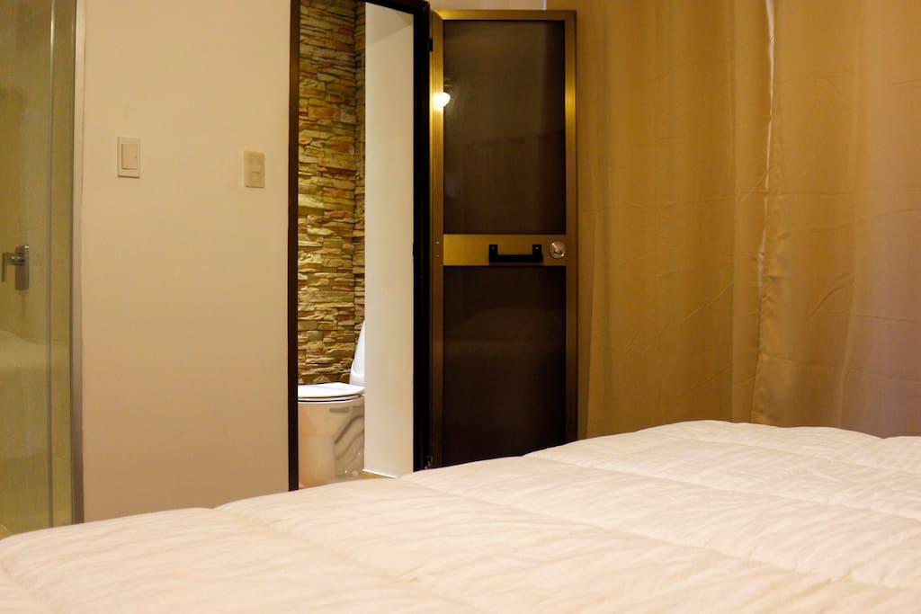 Ensuite room/Habitación Ensuite