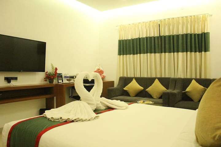 Family rooms in the heart of Chennai