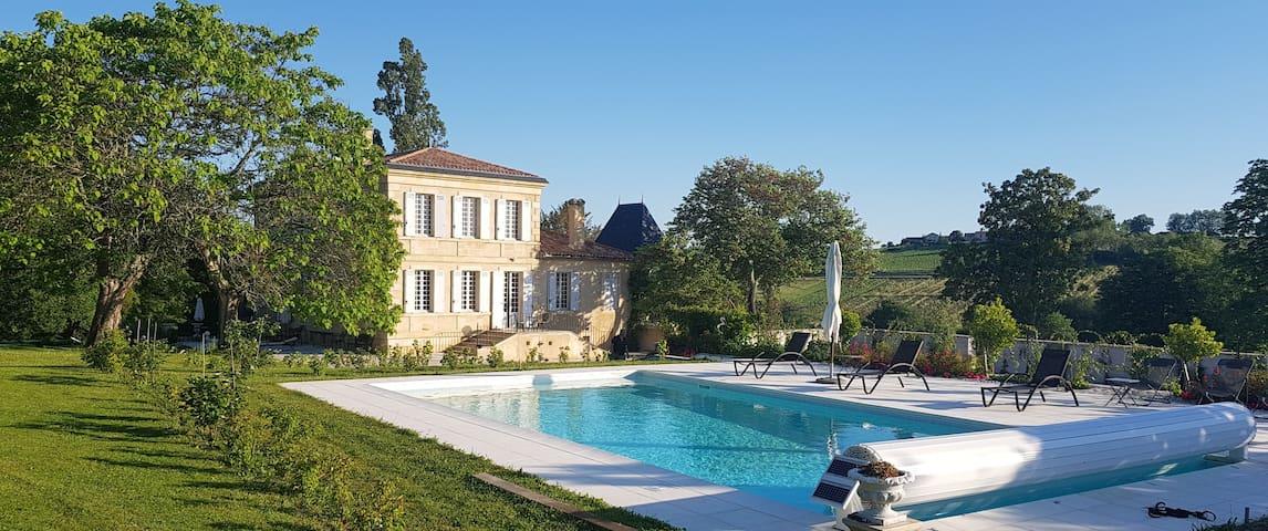Chateau Garreau- a paradise max 15 persons