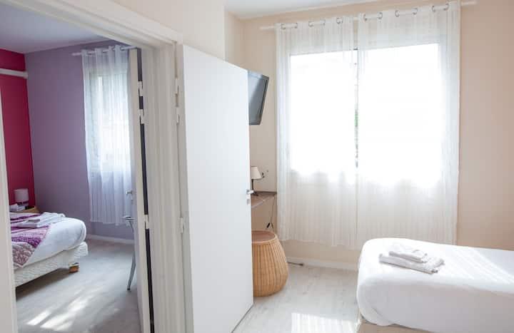 MOODz BOUTIQUE HOTEL Chambre PMR communicante