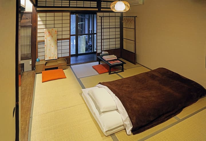 Japanese-style Tatami Room  with free breakfast!