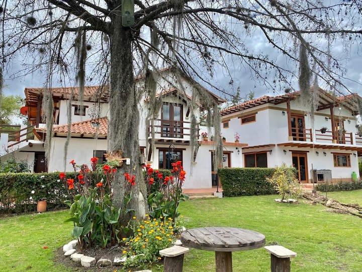 Casa de David (Villa de Leyva) 22 pers