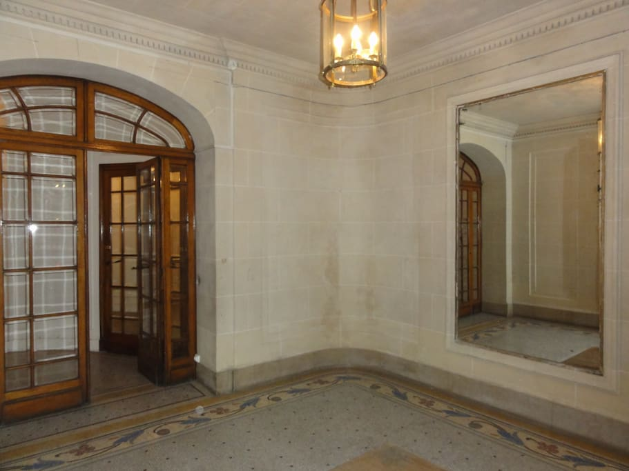 First entrance hall