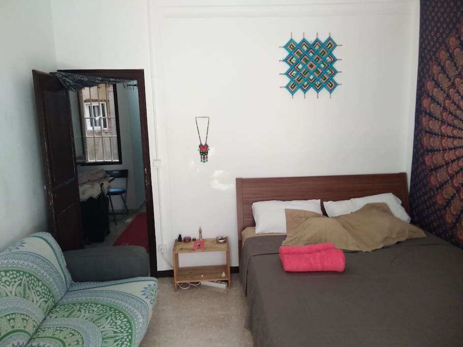 Double Room with BALCONY & excellent mattress and sofa!!!