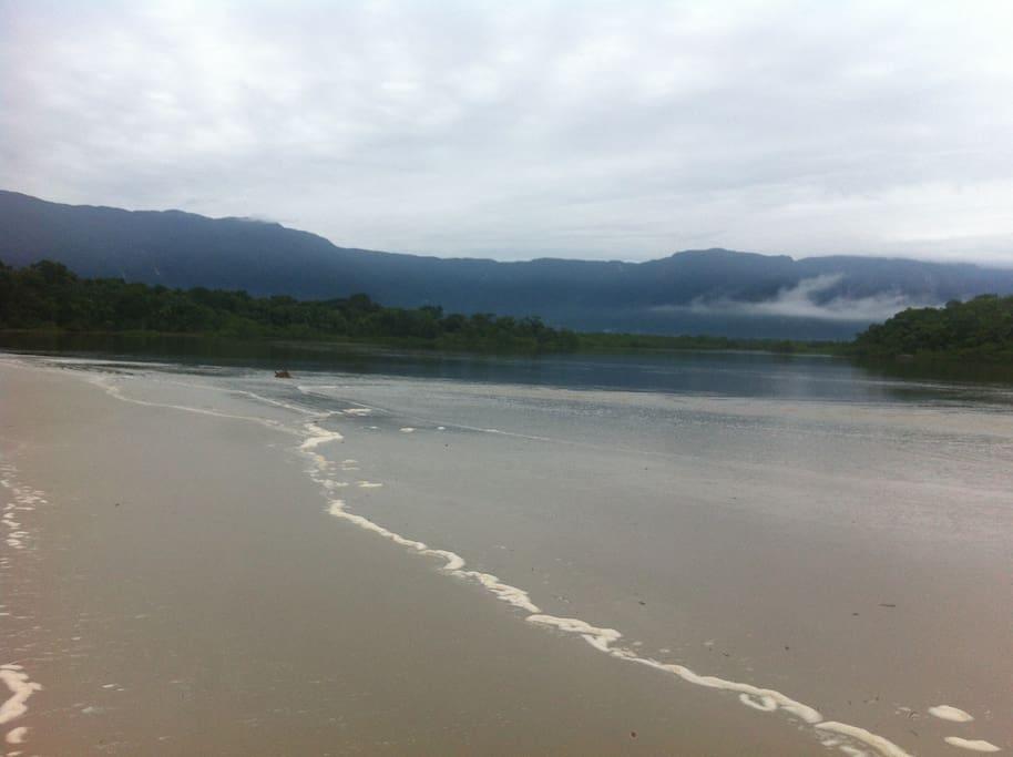 mar e rio juntos opção de cachoeiras na serra