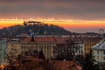 Špilberk Castle.