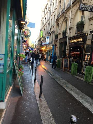 Petit nid à Paris